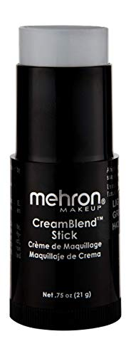 Mehron Makeup CreamBlend Stick (.75 oz) (LIGHT GREY)