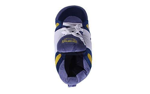 LICENSED and OFFICIALLY and Grizzlies Womens Slippers Sneaker Comfy Mens Feet NBA Happy Memphis Feet Hqx8wt0