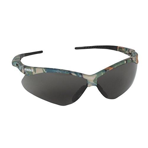 Jackson Safety 22609 V30 Nemesis Safety Glasses, Smoke Anti-Fog Lenses with Camo Frame (Pack of - Bulk Sunglasses Safety
