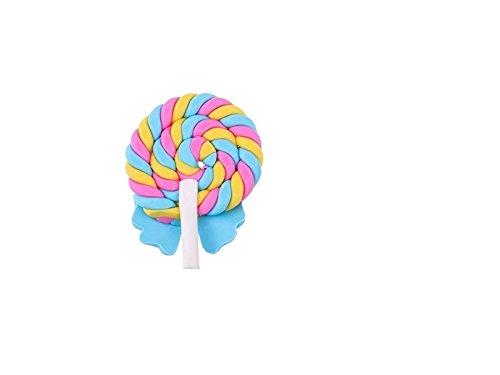 FenBuGu-JP ミニチュア樹脂棒金の置物置物ドールハウス工芸品妖精の庭の装飾ミニ植物ポットマイクロ風景盆栽装飾品DIYキッズおもちゃギフト(青)