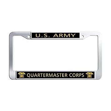 Waterproof Car Tag Frame Aluminum License Plate Frames Humor Personalized License Plate Frame