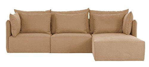 Temahome 2-Sitzer Sofa Dune + Chaise Longue (links) Beige