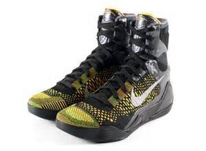 Nike Kobe IX Elite (Inspiration) Black/White-Anthracite Size 8