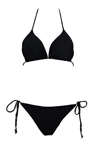 Black Triangle Bikini Set in Australia - 7