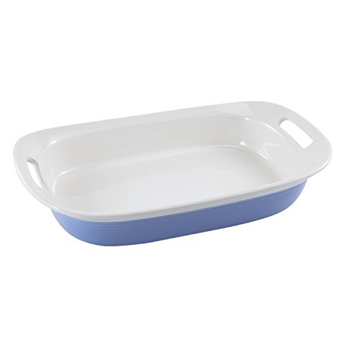 Corningware Etch Blue Cornflower 3-qt Oblong Dish
