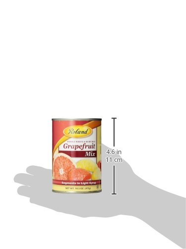 Roland Grapefruit Mix, Segments in Light Syrup, 14.5 Ounce (Pack of 12) by Roland (Image #5)