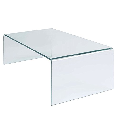 Tempered Glass Coffee Table Accent Cocktail Side Table Rectangle Perfect For Placing TV Remotes Books Magazines Photo Albums Modern Living Room Furniture Home Décor Strong And - In Macy's Manhattan Beach