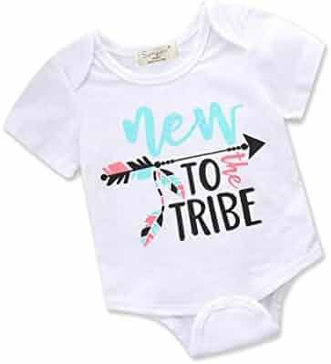 Trompette Silhouette1 Newborn Baby Girl Boy Bodysuit Jumpsuit Short Sleeved Bodysuit Tops Clothes