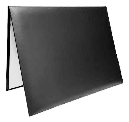 Diploma Certificate Cover - Document Holder, 8.5' x 11', Leatherette, Black