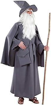 DISBACANAL Disfraz de Mago Gris - -, L: Amazon.es: Juguetes y ...