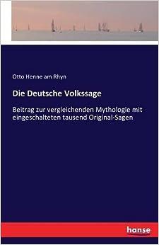 Book Die Deutsche Volkssage