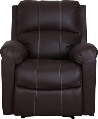 Enjoyable Asian Furnitech Rabon One Seater Recliner Colour Black Creativecarmelina Interior Chair Design Creativecarmelinacom