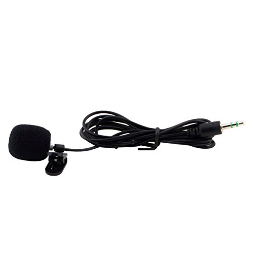 Portable Mini 3.5mm 30Hz -15000Hz Tie Lapel Lavalier Clip Microphone for Lectures Teaching Lessons Education