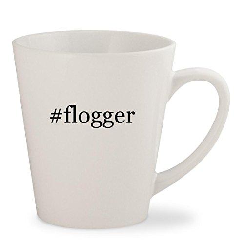 Price comparison product image #flogger - White Hashtag 12oz Ceramic Latte Mug Cup