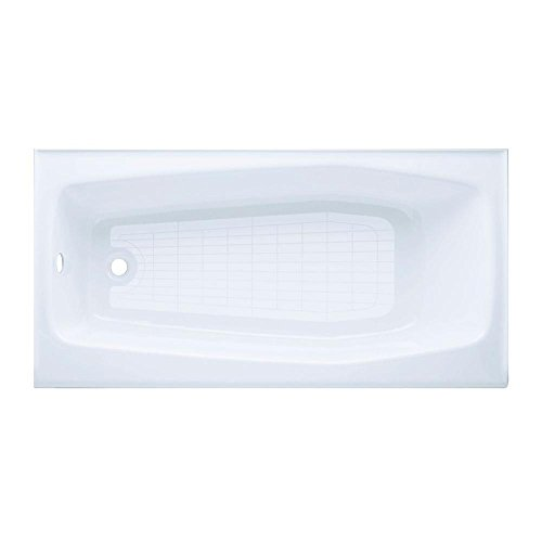 - Villager Alcove Bathtub With Integral Apron And Left-Hand Drain, 60X31 In, White