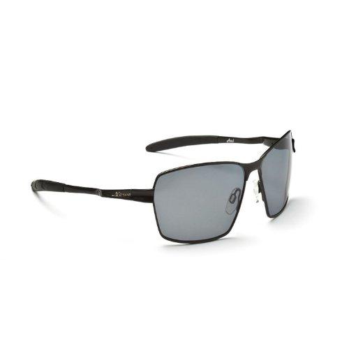 Optic Nerve Axel Polarized Sunglass (Shiny Black, - Sun Optic Nerve Glasses