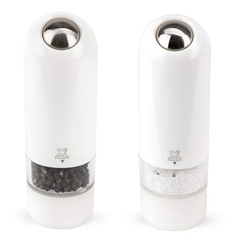 Peugeot Alaska Electric Duo Pepper and Salt Set, White ()