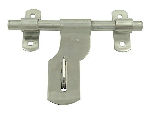 Hasp And Staple >> Stainless Steel Barrel Bolt Lock Hasp Gate Door Padlock Latch Clasp Staple - Buy Online in UAE ...