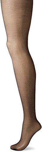 CK Women's Infinite Sheer to Waist Pantyhose, Black, Size A