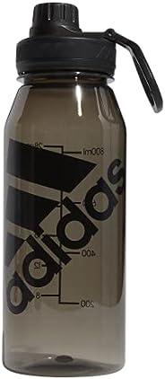 adidas Garrafa de água de plástico Superlite 1L (946 ml) preta/preta, tamanho único