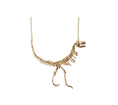 [Most Beloved Dinosaur Vintage Necklace Short Collar] (Dinosaur Costume Bike)