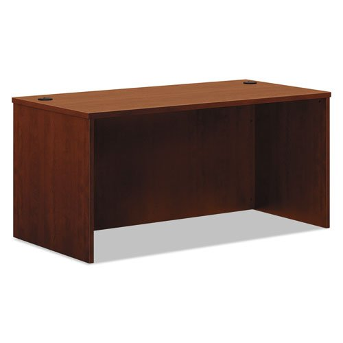 Basyx Rectangular Desk Shell, 60 by 30 by 29-Inch, Medium Cherry