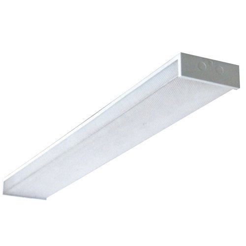 Yosemite Home Decor FT4004 2-Light 48.75-Inch Overhead Fluorescent Ceiling Fixture with Electronic Ballast