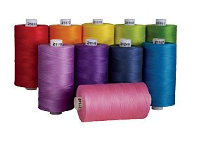 Connecting Threads 100% Cotton Thread Sets - 1200 Yard Spools (Over the Rainbow - set of -