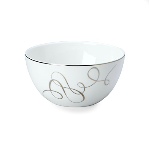 Platinum Fruit Dessert Bowl - Mikasa Love Story Fruit Bowl, 5-Inch