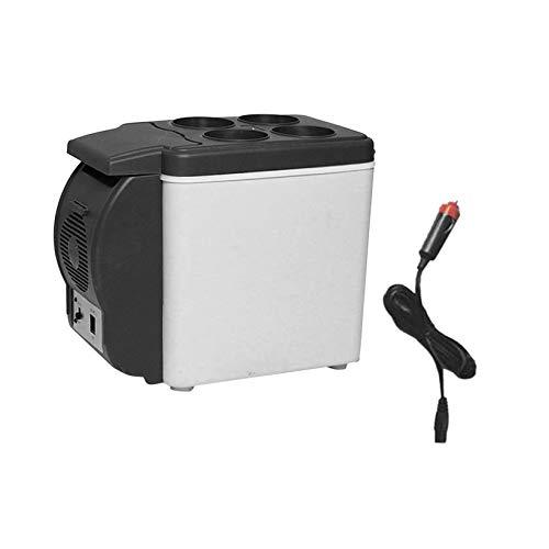 Tabithaolyeo Tamaño portátil Multifuncional 6L 12V Refrigerador de ...