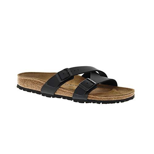 Birkenstock New Women's Yao Balance Slide Sandal Black BF 41 N