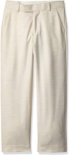 - Calvin Klein Big Boys' Flat Front Dress Pant, Hummus Twill, 18