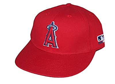 OC Sports Los Angeles Angels Youth Adjustable Hat Cap - Red