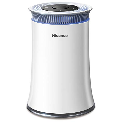 Hisense Air Purifier with True HEPA Technology, Air Purifier for Home Allergies Pets Dander Smokers in Bedroom, 25db…