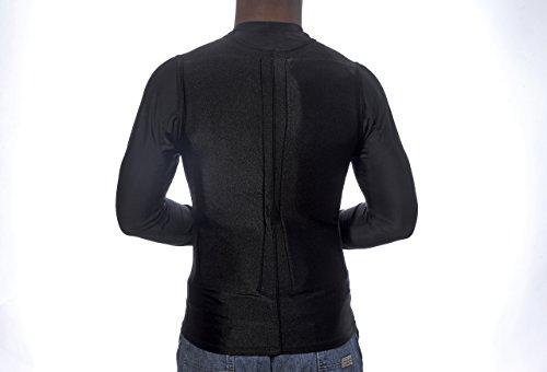 Flex Vest Cool Vest with Nontoxic Cooling Packs Black Medium (Chest Size 36-42) by Glacier Tek (Image #1)