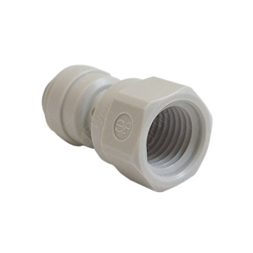 10 Pack) John Guest Female Connector 3/8