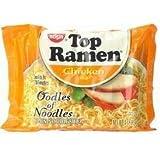 Nissin Top Ramen Oodles of Noodles Chicken Flavor 3oz 48-pack