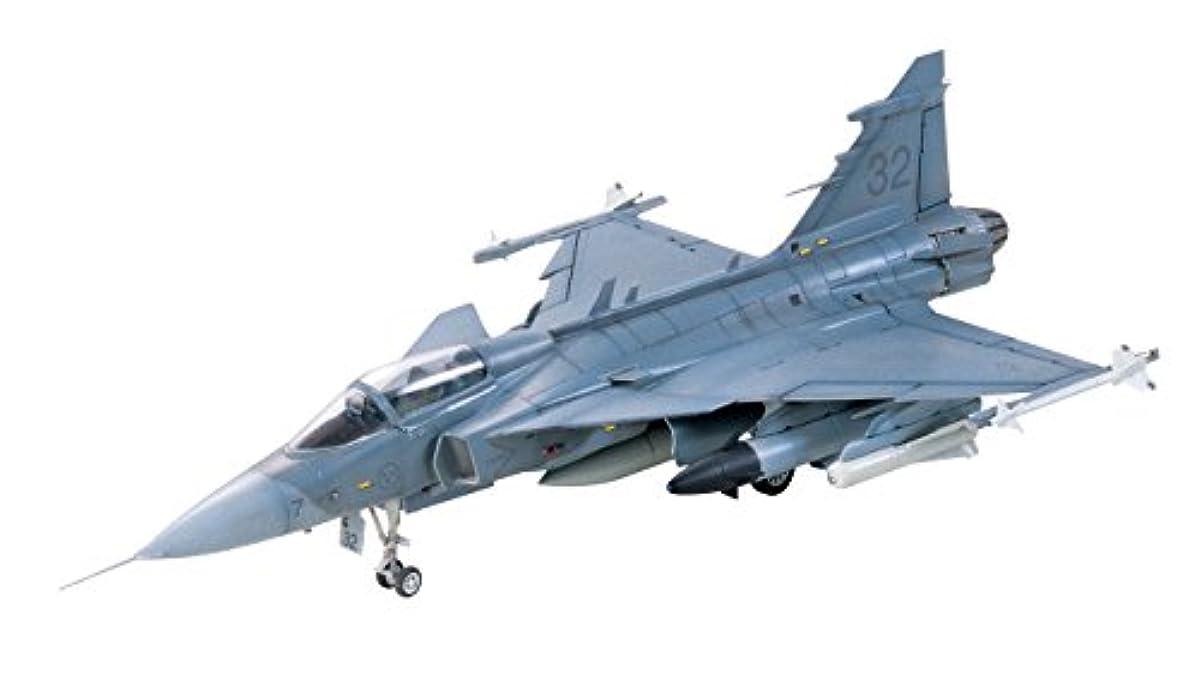 [해외] 퍼터미야 1/72 우바도콜렉션 NO.59 스웨덴 공군 JAS-39A 구리펜 60759 프라모델  60759