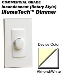RPI06-AW Leviton Decora IllumaTech Incandescent Dimmers - Illumatech Lighting