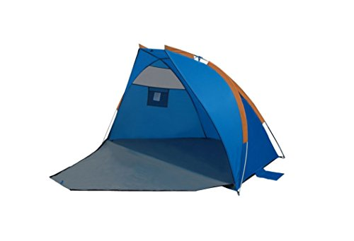 Gigatent Blue and Gold Sand Castle Beach Tent