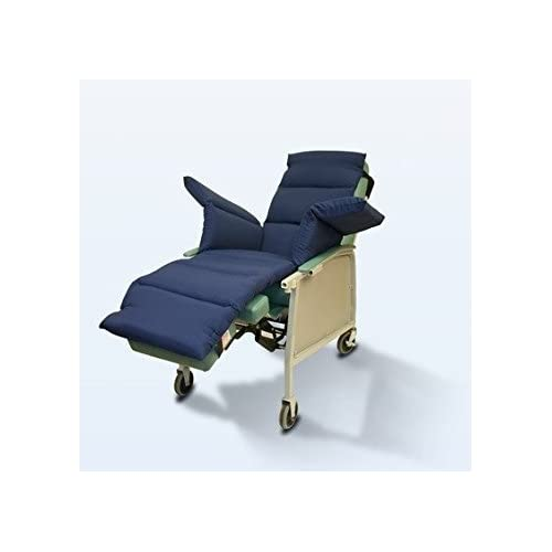 Image of NYOrtho Geri-Chair Comfort Seat Cushion: Navy Taslon Water-Resistant 72'L x 18'W