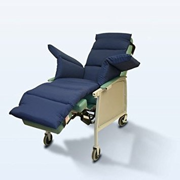 NYOrtho Geri-Chair Comfort Seat Cushion Color: Navy...