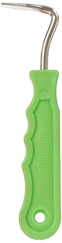 Tough 1 Metal Hoof Pick, Neon Green