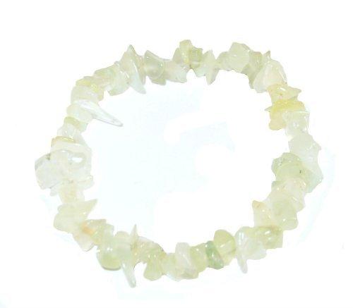 (Serpentine (New Jade) Chip Bracelet by 9unicorns Crystals)