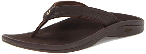 OluKai Women's 'Ohana Sandal - Dark Java/Dark Java - Women's Size 7 (Pacers Jersey Alternate)