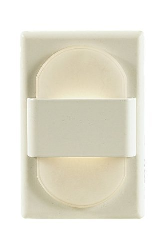 - Alico Industries WLE105DR32K-10-30 EZ LED Step Light, White Finished Trim with Opal Acrylic Lens by Alico Industries