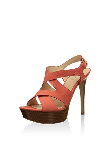Sandales Guess Femme Rouge Fl1datlea03 pour 6BBw5OqxF
