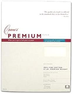product image for Crane & Co. Crane's Premium Weight Pearl White 8 1/2 X 11 Sheets (PS8111)