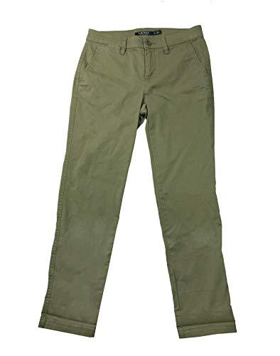 (Lauren Ralph Lauren Women's Petite Chino Pants (Sage,)
