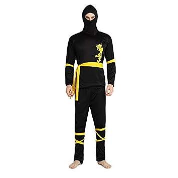 thematys® Disfraz de Ninja para Hombre Cosplay, Carnaval y ...